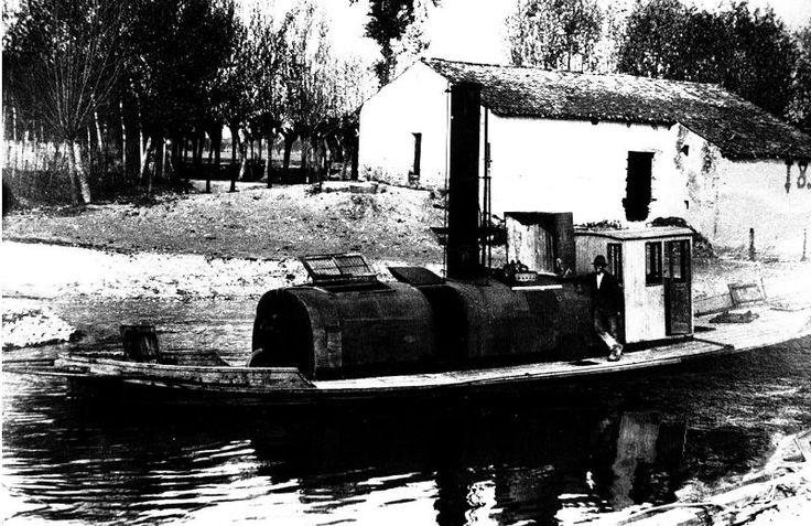 """Rimorchiatore """"Mantova"""", 1932, Rivalta sul Mincio"""