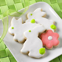 Easy Easter Cutout Cookies