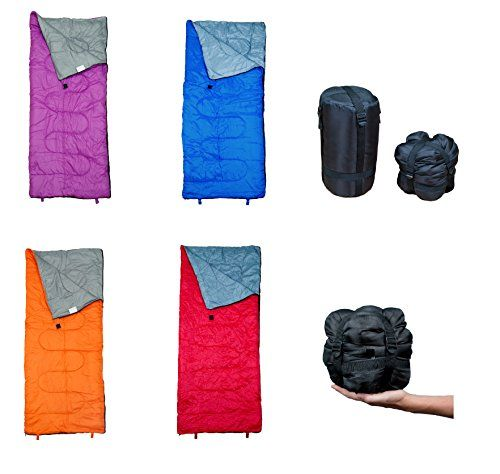 Camping Sleeping Bags - Lightweight Sleeping Bag by RevalCamp Indoor  Outdoor use Great for Kids Teens  Adults SATISFIED OR Ultra light and compact bags are perfect for hiking backpacking camping  travel -- Find out more about the great product at the image link.