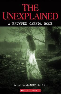 The Unexplained is an anthology of eighteen shivery short stories and true tales by some of Canada's top authors. Compiled and edited by Janet Lunn, this is a wonderfully eerie collection of short stories and anecdotes about strange and unexplained phenomena.