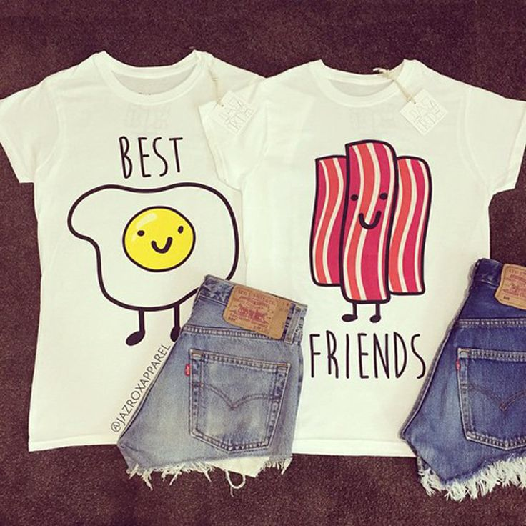 T-SHIRT BEST FRIENDS