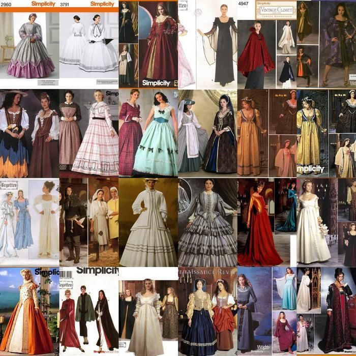 105 Best Images About Renaissance Sewing Patterns On Pinterest: 17 Best Images About Costume Sewing Patterns Historical