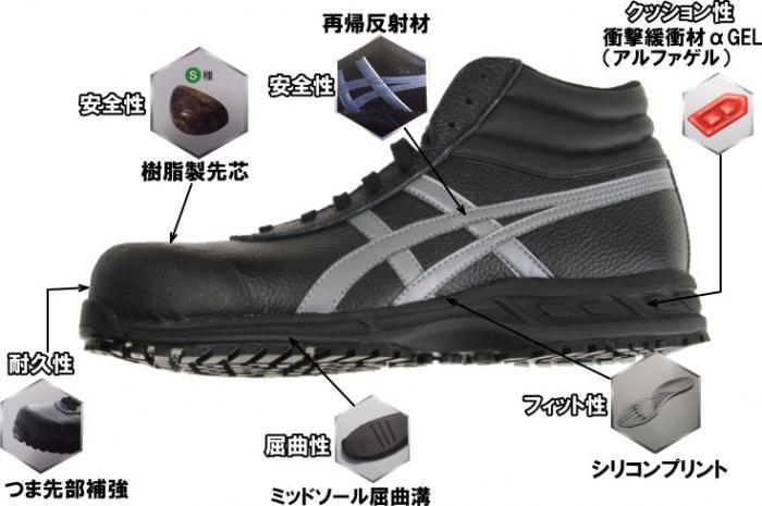 作業屋やまほ / JIS規格安全靴アシックスasicsウィンジョブ71S ...
