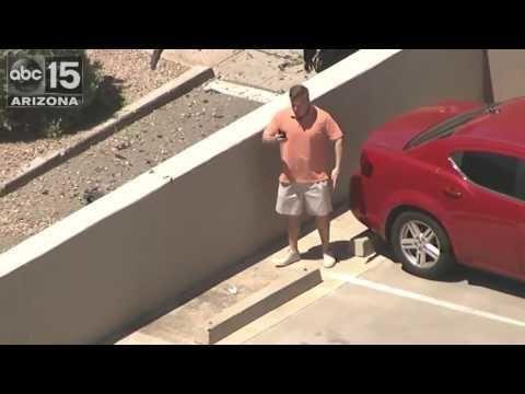 Man Starts Dancing At Live Breaking News Scene @sunny1065lv #Vegas #Radio #MarcoInTheMorning