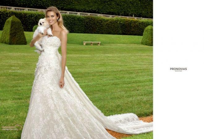 Новая коллекция свадебных платьев от марки Pronovias 2014 http://glange.net/blog/305.html