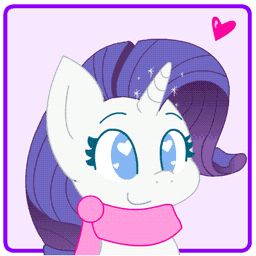 Rarity is Bouncy GIF by HungrySohma16