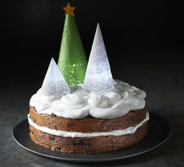 49 best christmas cake images on pinterest christmas let it glow christmas cake forumfinder Gallery