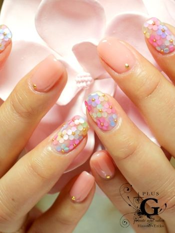 Spring flower nails | @andwhatelse