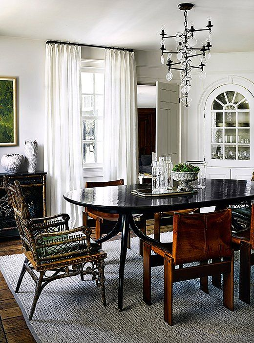 20 Questions For Designer Kara Mann Eclectic Dining RoomsModern TableDining