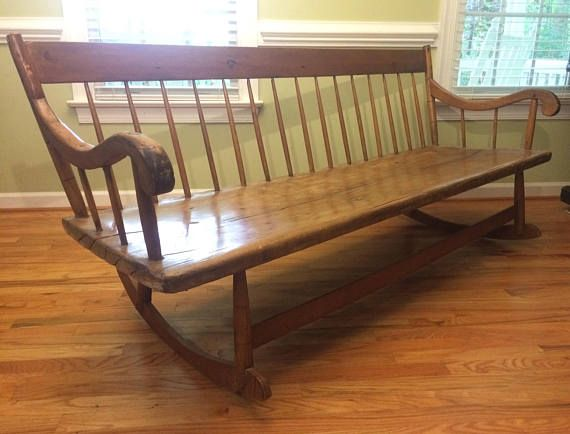 Antique Rocking Bench/ Nanny Bench SALE