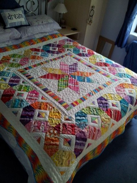 Scrappy espectáculo Quilt - Right Here !!  :) - Página 243: