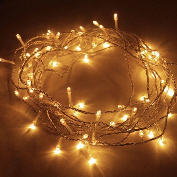 Die besten 25 led lichterkette au en warmwei ideen auf pinterest led lichterkette au en - Weihnachtslichterketten innen ...