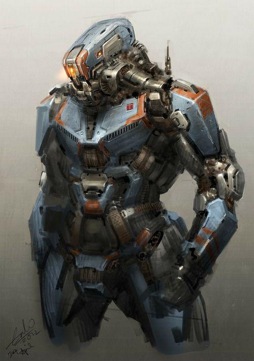 Les 552 meilleures images du tableau mechs robots cyborgs - Cuisiner l omble chevalier ...