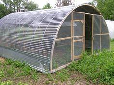 Chicken Tractors, Chicken Coops, Chicken Hoop House, Chicken Pen, Hoop Coop, Hoop Houses, Hoop House Chickens, Hoop Greenhouse