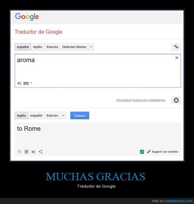 MUCHAS GRACIAS - Traductor de Google   Gracias a http://www.cuantarazon.com/   Si quieres leer la noticia completa visita: http://www.estoy-aburrido.com/muchas-gracias-traductor-de-google/
