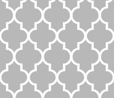 Cashmere Quatrefoil fabric by sparrowsong on Spoonflower - custom fabric
