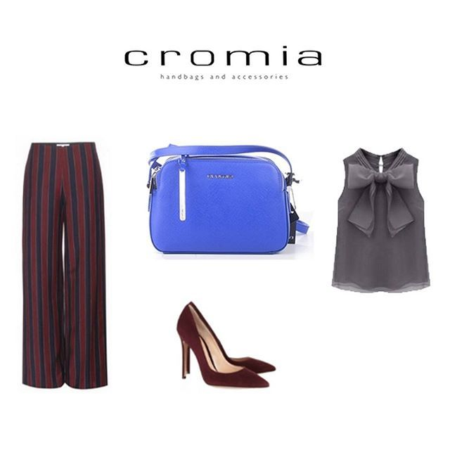 Wear your #Cromia #Perla mini cross body bag and give a touch of bright color to your fall look! #cromiabag #cromialovers #handbag #fw15 #fashion #style #baglover #charme #trend #outfit #bag  #instastyle #instafashio #bagoftheday #fashionblogger #iconic #citystyle #glamour