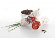 Salame Cacciatorino Saporotto #salumi #salami #salame #salameabruzzese #Abruzzo #delicious #food #meat #meatspecialities #specialities #gourmey #italyfood #salumificiosorrentino