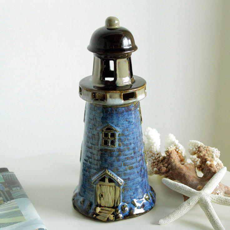 Sailing Desk Table Lamp Bedside Table lights Lighthouse Mediterranean Style