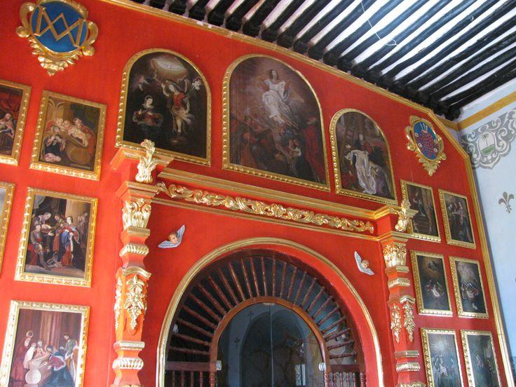 dressing room of the Virgin