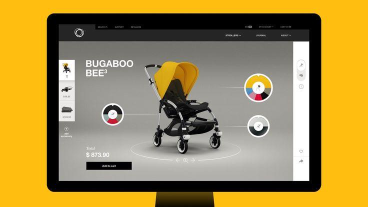 The all-new Bugaboo.com - Configurator