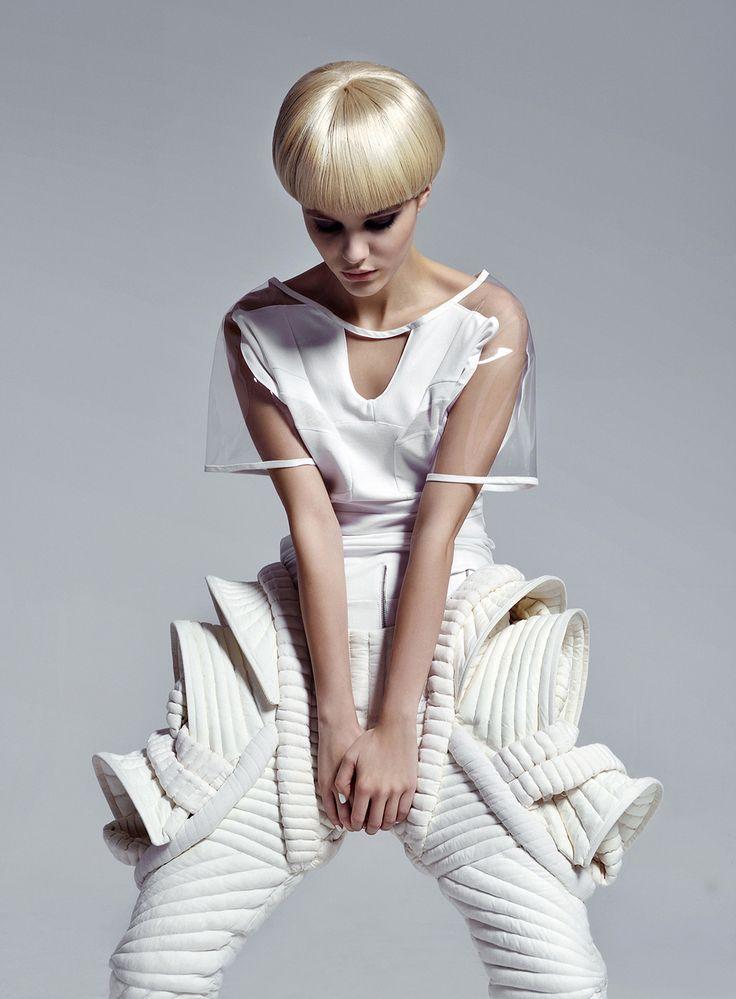 Feminine meets Futuristic | fashion | futuristic | future fashion | design | style