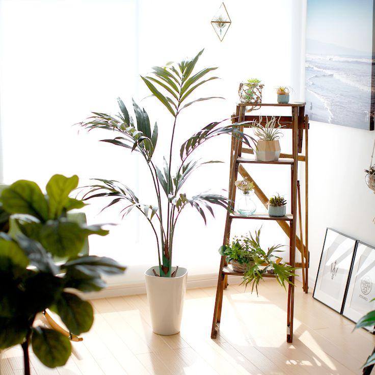 光触媒人工観葉植物、フェイクグリーンのケンチャヤシ 4101