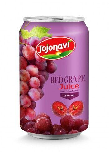 330ml_Wholesale_Natural_Red_Grape_Juice_Aluminum_can