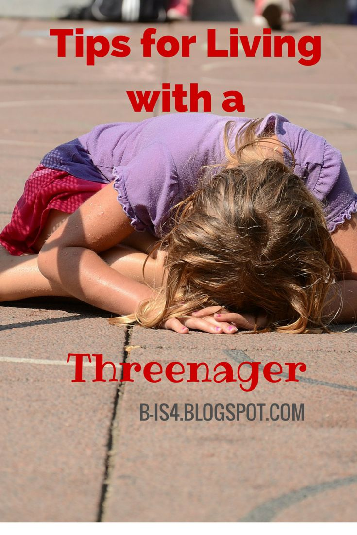 Good-bye, Terrible Two's.  Hello, Threenager.  Here are some Tips for Living with a Threenager for parents of those teenage three year olds!