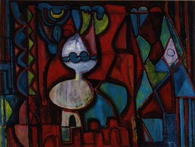 Still Life  William Baziotes, 1945, Abstract Expressionism