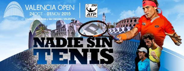 Valencia Open ATP World Tour 2015 - http://www.valenciablog.com/valencia-open-atp-world-tour-2015/