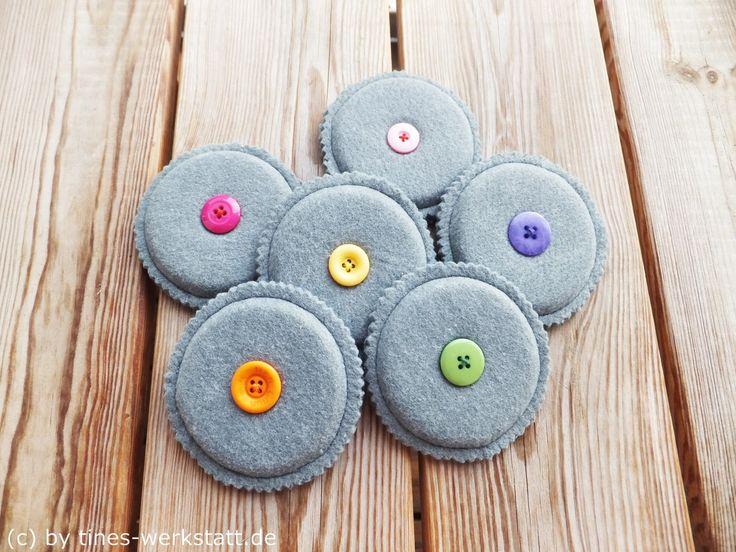 Nähgewichte nach dem Freebook von Susana by SusuKo - erhältlich bei Farbenmix