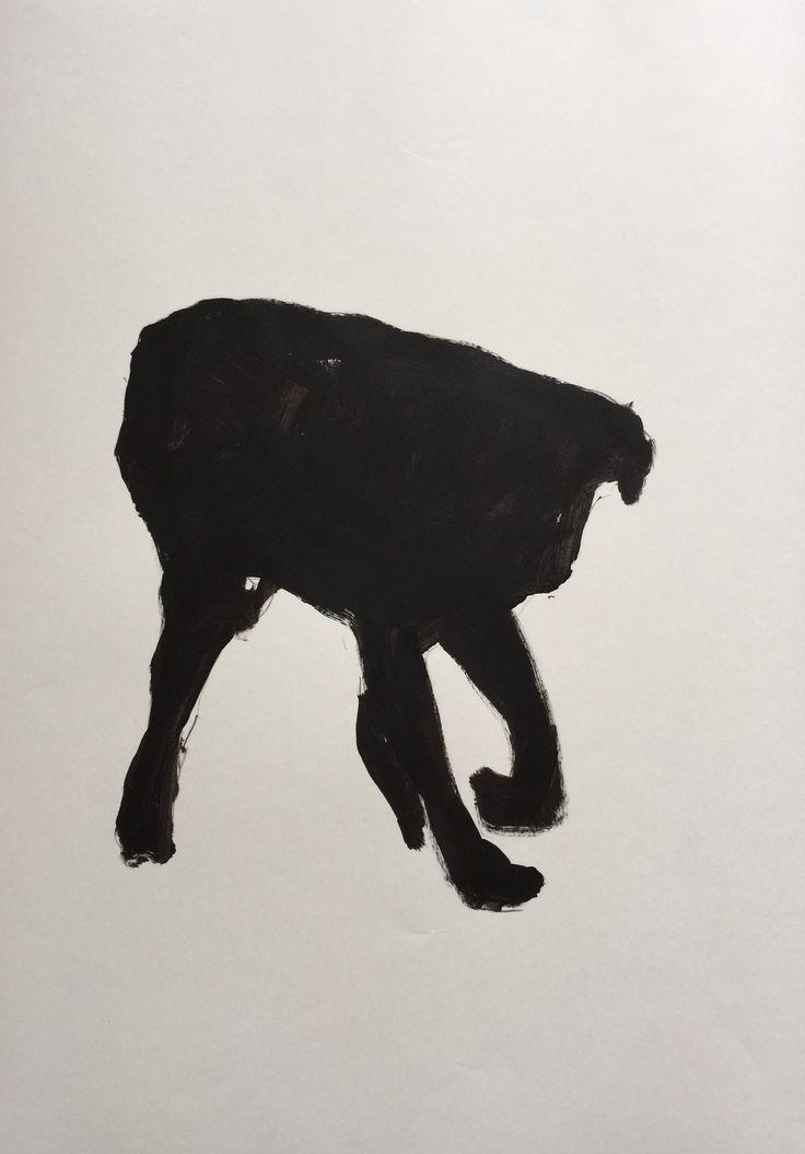 Acrylic on paper Tijen Üstüner