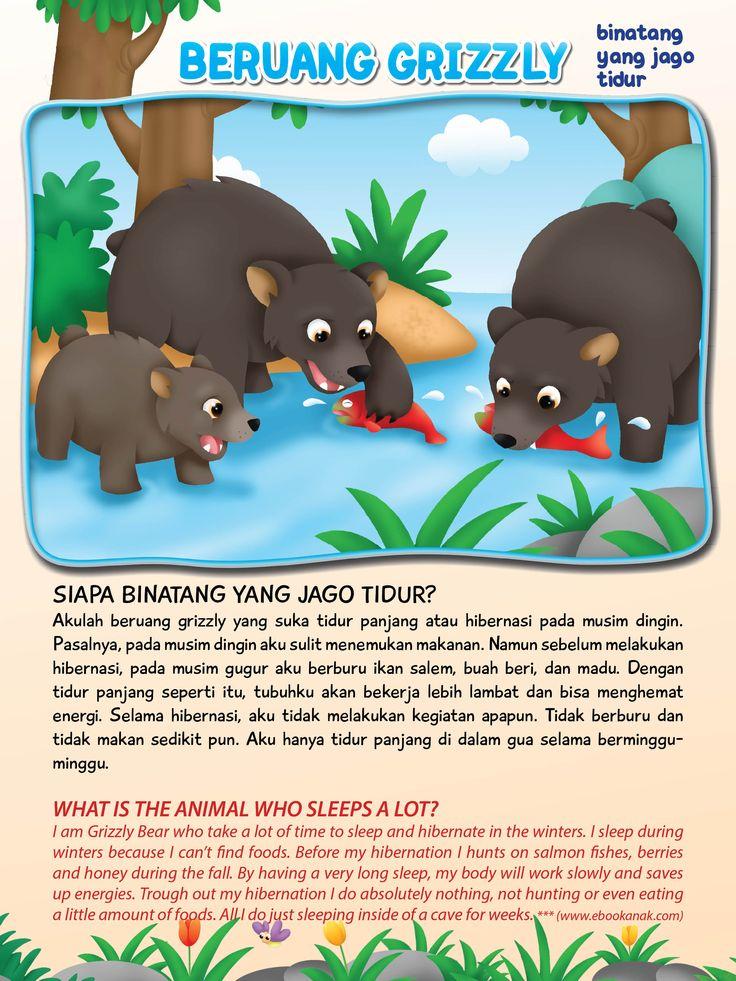 Beruang Grizzly Si Jago Tidur | Ebook Anak