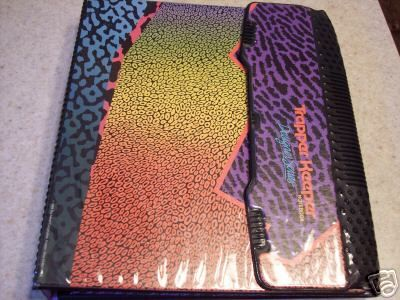 Trapper Keepers were the bomb dot com. The last one I had was pretty much the size of a giant encyclopedia and zipped up. It was the hummers of all trapper keepers.