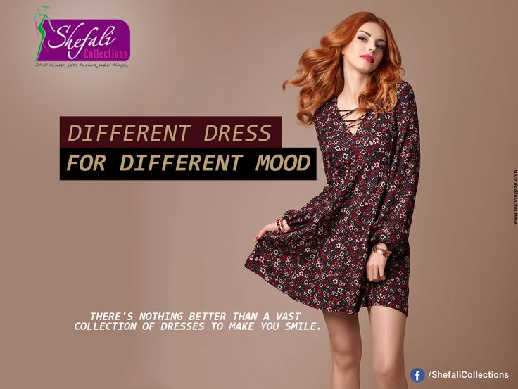 Different Dress For Different Mood.. Buy Your Favourite Dress Now.. #ShefaliCollections #Clothes #Fashion #Brand #Style #Dresses #WesternWear #Kurtas #Tops #Jeans #Suits