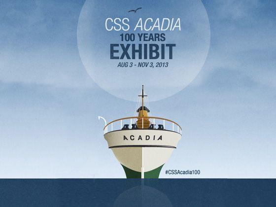 100th anniversary CSS Acadia
