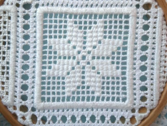 Featured Designer Barbara Kershaw: Exquisite Schwalm Sampler