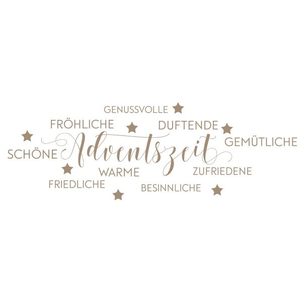 Stempel Adventszeit