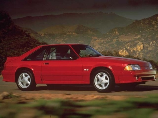1991 Ford Mustang GT.