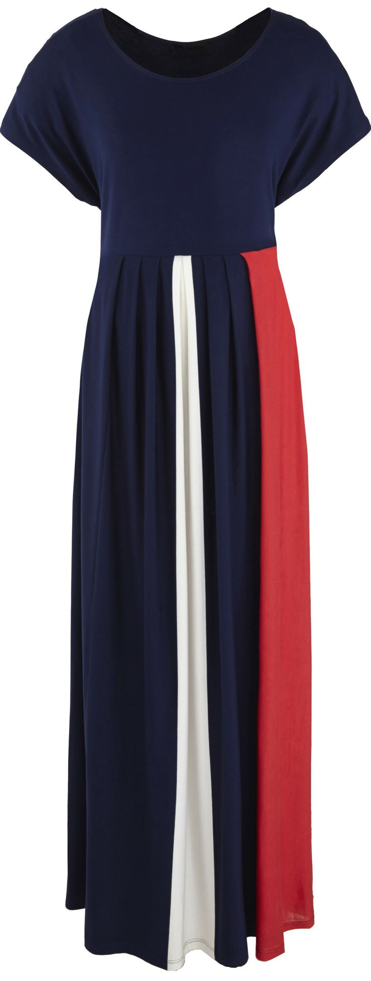 nice cruise dress - nautical plus size