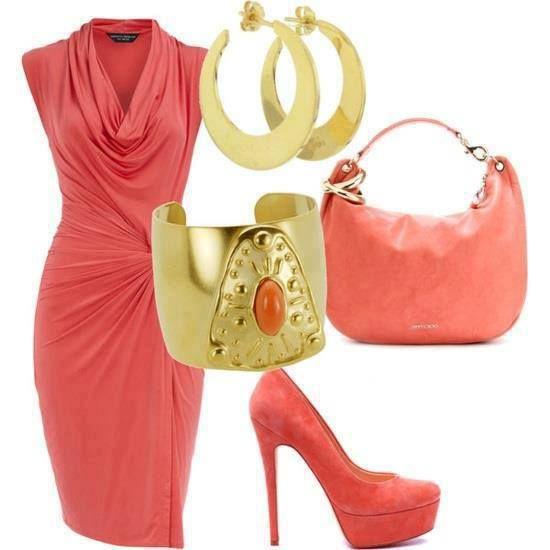 rosa con dorado