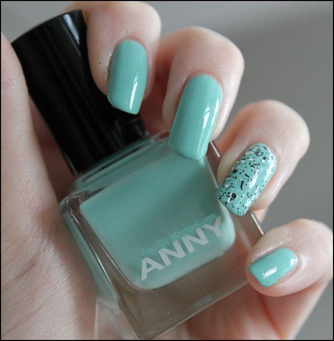 ANNY mint dolphin & polka dots