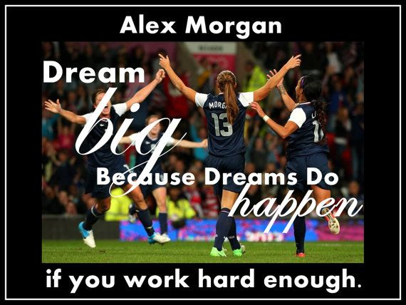 Soccer Poster Alex Morgan Olympic Soccer Photo by ArleyArtEmporium, $15.99