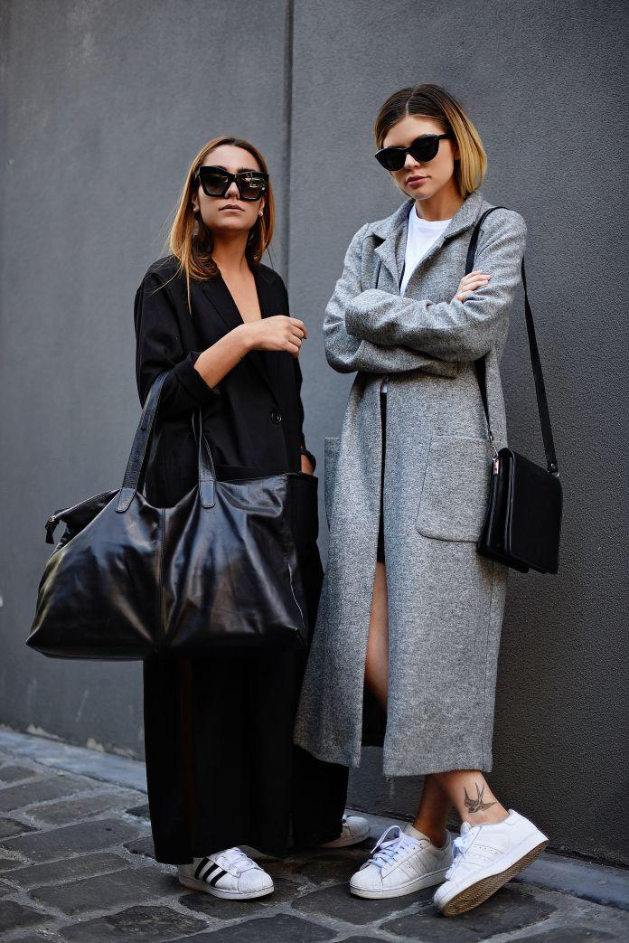 black & grey combo... you know it!  Melbourne. #givemethathing @stylesnooperdan