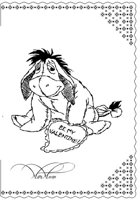 valentine coloring pages spanish - photo #17