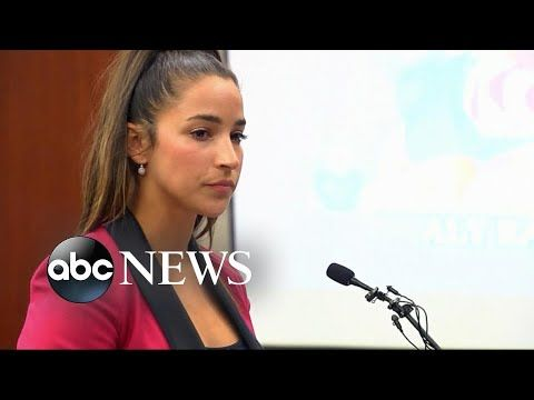 The gymnastic Aly Raisman is overreacting about his coach on a sexual harassment of Larry Nassar in a trial.