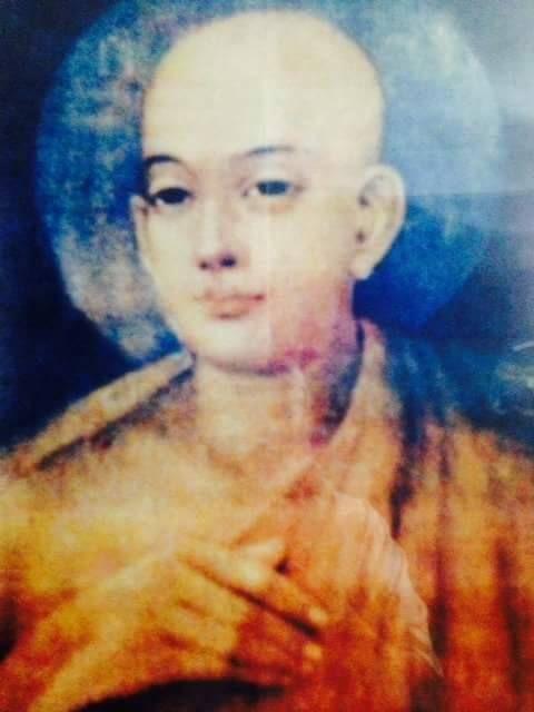 Original portrait painting of Chaitanya Mahaprabhu. It was commissioned by Maharaja Prataprudra Deva of Orissa while Mahaprabhu was living in Puri.
