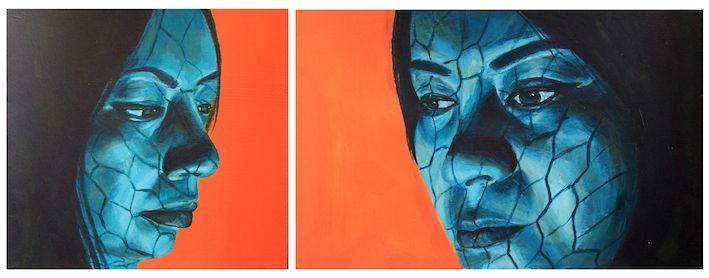 GCSE Art Final Exam Piece by Yan Yan Cheng, Y11 www.nickycases.com