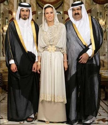 Sheikha Mozah amazing dress